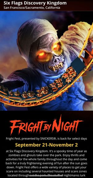 6 flags fright fest tickets for Sale in Stockton, CA