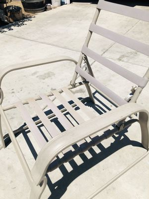 Pool Chairs - Set of 6 with Cushions. for Sale in Fresno, CA