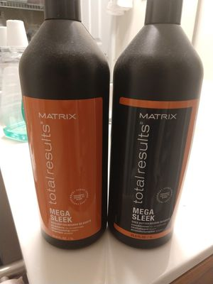Matrix Mega Sleek Shampoo and conditioner for Sale in Durham, NC