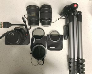 Canon Camera and Equipment (buy together or separate) for Sale in Las Vegas, NV