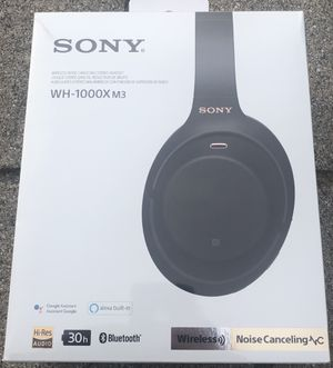 Sony wh1000xm3 for Sale in Englishtown, NJ