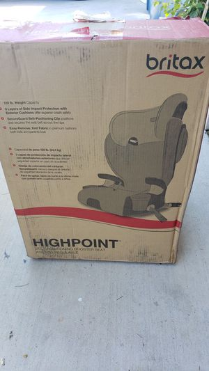 Britax highpoint booster carseat for Sale in Las Vegas, NV