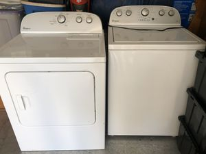 Whirlpool washer and dryer. Only used for 6 months. for Sale in Williamsport, PA