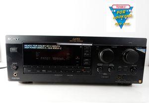 Sony STR-GA7ES 240 Watt 5.1 Channel Surround Sound, Stereo Receiver for Sale in Bakersfield, CA