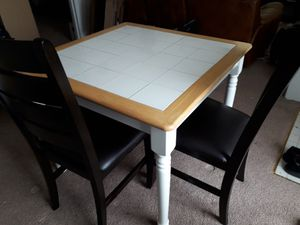 Dinning table & 2 chairs for Sale in Alexandria, VA