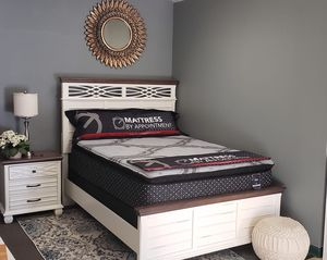 Bedroom Furniture and Mattresses up to 80% below retail!! 40 down today!! for Sale in Quakertown, PA