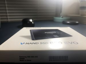 "Samsung 850 EVO 250GB Internal 2.5"" (MZ-75E250B/AM) SSD Brand New (Open Box) for Sale in Charlottesville, VA"