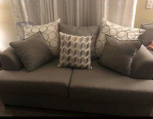 Light gray Sofa&loveseat for Sale in Lynnwood, WA