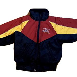 Vintage Ice Rider By Mustang Youth Kids Medium Snowmobile Jacket Coat - Padded for Sale in Pelham, NH