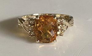 10k gold and Citrine stone for Sale in San Mateo, CA