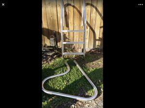 swimming pool slider and ladder for Sale in Alexandria, VA