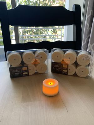 18 Flameless Candles for Sale in San Francisco, CA
