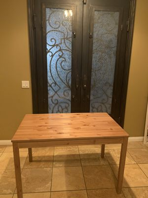 Wooden kitchen table for Sale in Rancho Cucamonga, CA