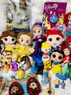 Giant Disney Princess Plush Toy Doll Lot for Sale in Largo,  FL