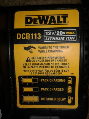 DEWALT CHARGER for Sale in Willow Street, PA