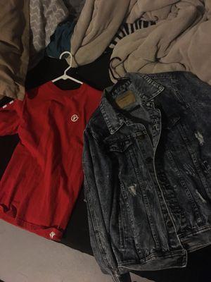 Denim Jacket & Vans Shirt🔥 for Sale in Pueblo, CO