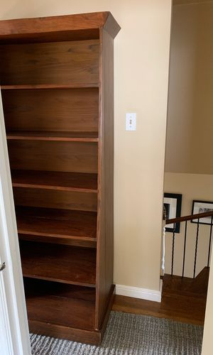Solid teak bookshelves for Sale in San Francisco, CA