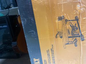 Dewalt 8 1/4 inch table saw with 24 1/2 inch rip capacity #DWE7485 for Sale in Grafton, MA
