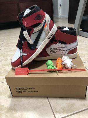 Jordan 1 Retro High Off White Chicago for Sale in Fairfax, VA