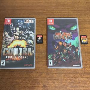 Contra & Has-Been Heroes On Switch for Sale in Miami, FL