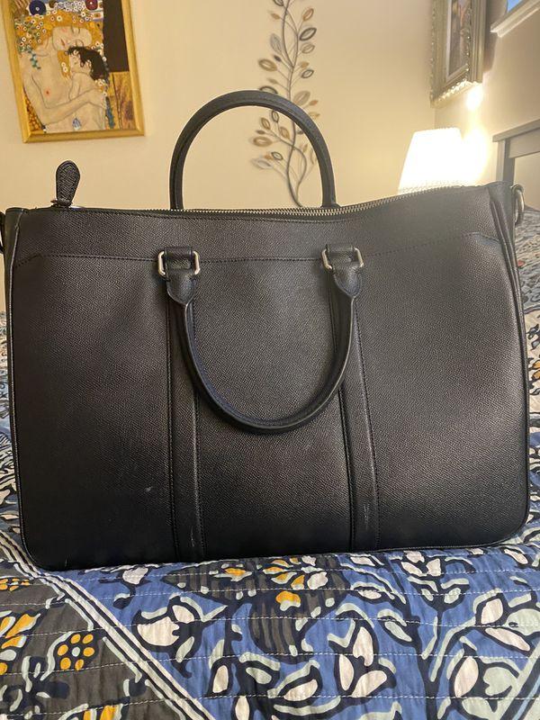 Coach Metropolitan Double Zip Large Briefcase