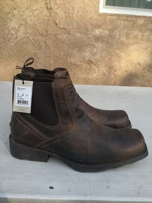 Ariat Soft toe boots size 12EE for Sale in Riverside, CA