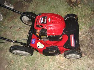 Push button start troybilt self propelled lawnmower for Sale in Irving, TX
