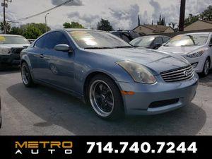 2005 INFINITI G35 Coupe for Sale in La Habra, CA