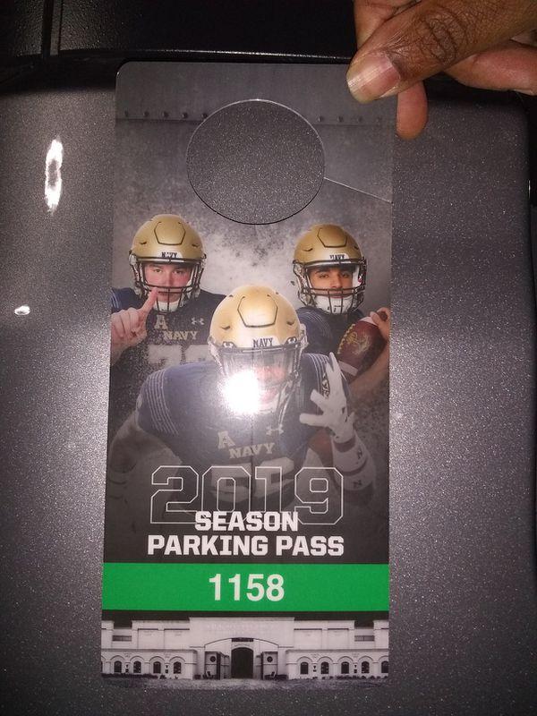 Season parking pass
