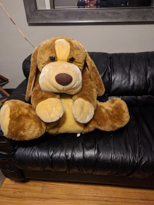Huge Plush Dog for Sale in Chicago, IL