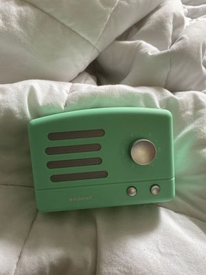 Mint Polaroid Bluetooth Speaker for Sale in Ipswich, MA