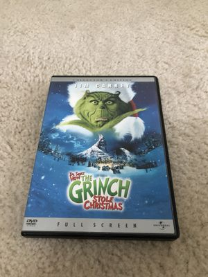 DVD Dr. Seuss's How The Grinch Stole Christmas for Sale in Fairview Heights, IL
