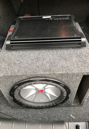 """Subwoofer 10"""" with amplifier for Sale in Tampa, FL"""