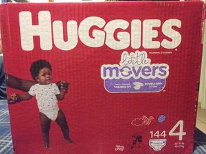 Size 4 Huggies new unopened box for Sale in Mesa, AZ