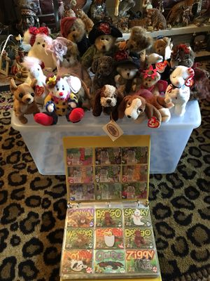 Beanie Babies ty Official Collector's Set for Sale in Columbus, OH
