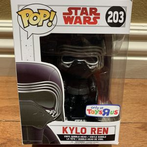 Nonmint Box Funko Pop! Star Wars Masked Kylo Ren Toys R Us Exclusive for Sale in Buena Park, CA