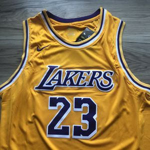 BRAND NEW! 🔥 LeBron James #23 Los Angeles Lakers Jersey + SIZE XL + SHIPS OUT NOW! 📦💨 for Sale in Los Angeles, CA