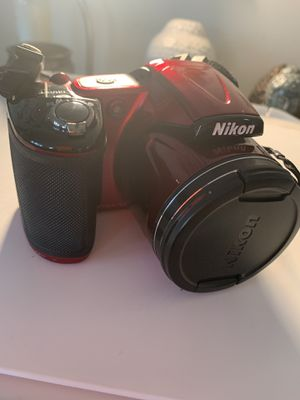Nikon CoolPix Camera + Bag and Rechargeable batteries for Sale in Takoma Park, MD