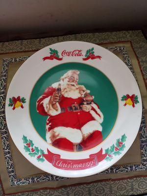 Vintage Coca Cola Christmas Plate for Sale in Atlanta, GA