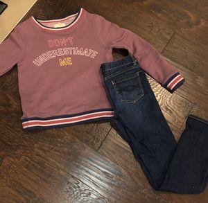 Girls Peek Brand Jeans and sweatshirt size 12 for Sale in Mill Creek, WA