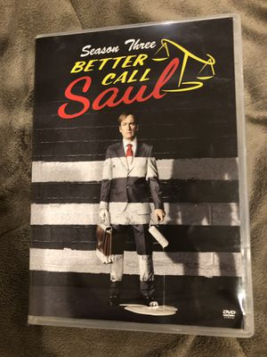 Better Call Saul Season 3 DVD for Sale in Chicago, IL