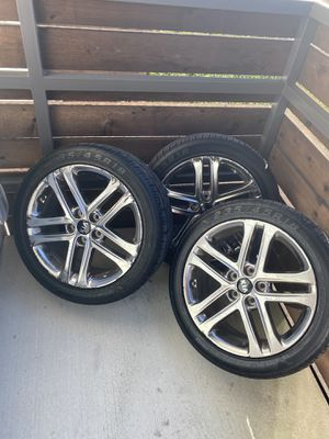 """Set of 4 18"""" wheels/rims/tires for Sale in Dallas, TX"""