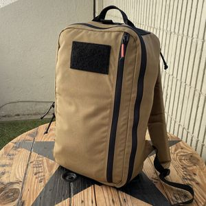 Recycled Firefighter 24hr Coyote Rare Rugged Tactical 1000D Travel EDC Ruck Pack for Sale in Whittier, CA