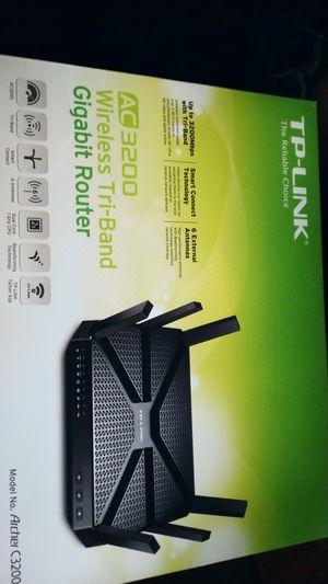 TP-Link AC3200 Wireless Gigabit Router for Sale in Berlin, NJ