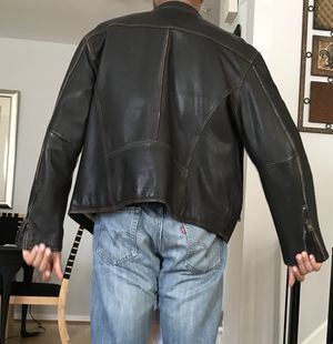 Male leather Jacket for Sale in Severn, MD