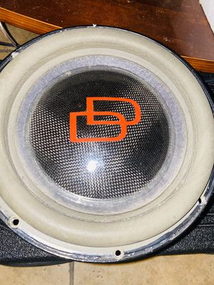 "DD 10""/ Fosgate prime 1000.1D for Sale in Lakewood, CA"