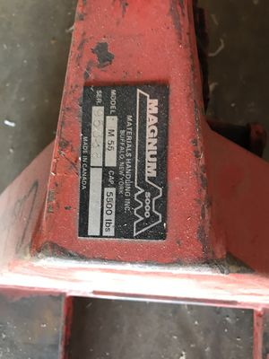 Pallet jack magnum 5000 for Sale in Oklahoma City, OK
