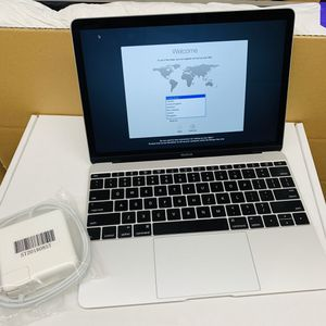 Apple MacBook 12-inch Retina MF855LL/A Notebook Intel Core M 8GB 256GB SSD Silver (2015) for Sale in Diamond Bar, CA