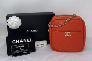 CHANEL Camera Case Red Crossbody Shoulder Bag NEW ❤️ for Sale in Corona, CA