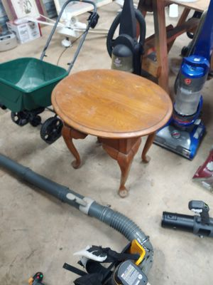 Small table for the foyer with drawer or dining room or any room for Sale in Kathleen, GA